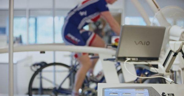 meting bij wielrenners